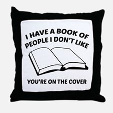 You're On The Cover Throw Pillow