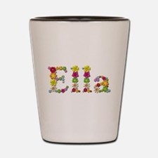 Ella Bright Flowers Shot Glass