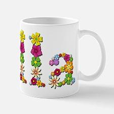Ella Bright Flowers Mugs