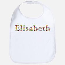 Elisabeth Bright Flowers Bib