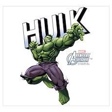 Hulk Wall Art Poster