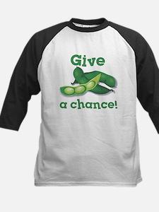 Give Peas a Chance! Kids Baseball Jersey
