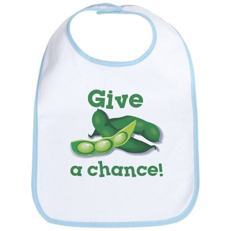 Give Peas a Chance! Bib