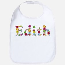 Edith Bright Flowers Bib