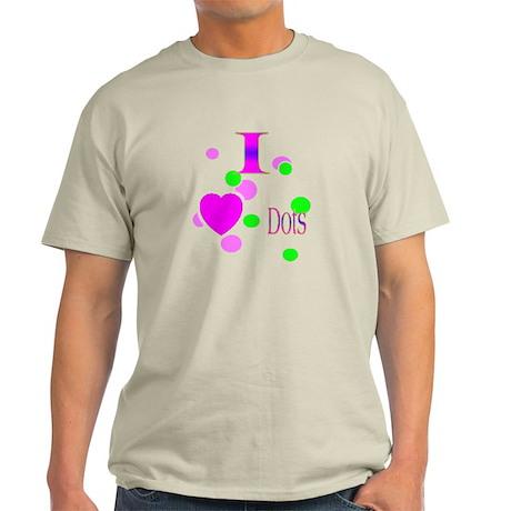 I Love Dots Light T-Shirt