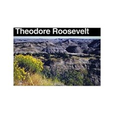 Theodore Roosevelt National Park Rectangle Magnet