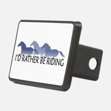 Rather Be Riding A Wild Horse Hitch Cover