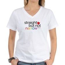 Staight but Not Narrow Shirt