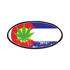 Colorado State Flag, Marijuana, Pot Leaf Patches