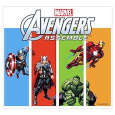 Avengers Wall Art Poster