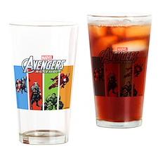 Avengers Drinking Glass