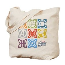 Avengers Squares Tote Bag