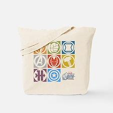Avengers Squares Tote Bag