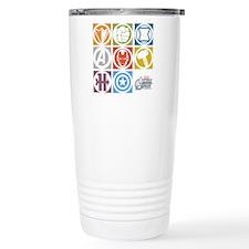 Avengers Squares Travel Mug