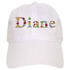 Diane Bright Flowers Baseball Cap