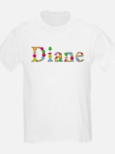 Diane Bright Flowers T-Shirt
