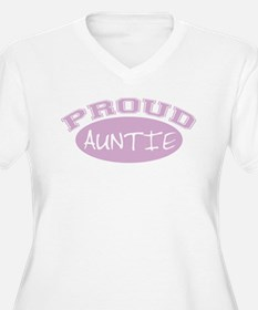 Proud Auntie (Pink) T-Shirt