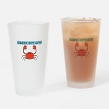 CRABBY BUT CUTE Drinking Glass