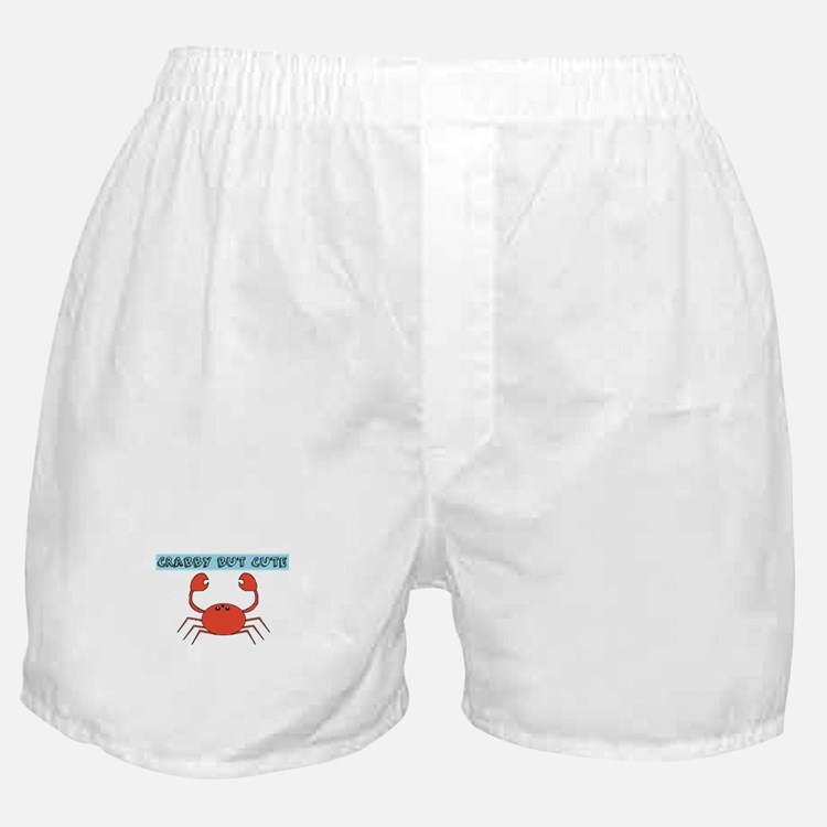 CRABBY BUT CUTE Boxer Shorts