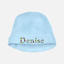 Denise Bright Flowers baby hat