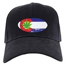 Colorado State Flag Marijuana Pot Weed Leaf Baseball Hat