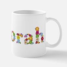 Deborah Bright Flowers Mugs