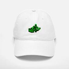 Go Kart in Green Baseball Baseball Baseball Cap