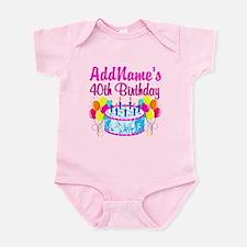 40TH PARTY Infant Bodysuit