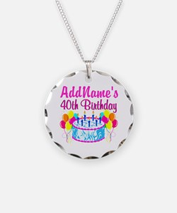40TH PARTY Necklace