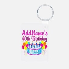 40TH PARTY Keychains