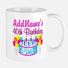 40TH PARTY Small Small Mug