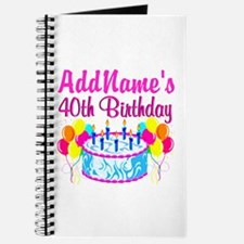 40TH PARTY Journal