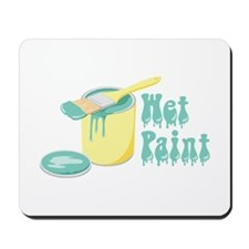 Wet Paint Mousepad