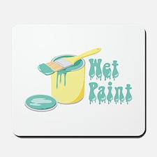 Wet Paint Mousepad