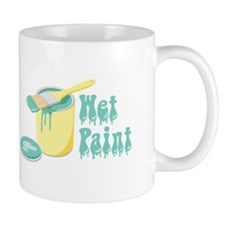 Wet Paint Mugs