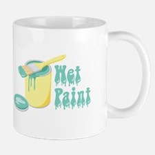 Wet Paint Mugs