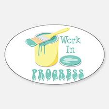Work In PROGRESS Decal