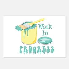 Work In PROGRESS Postcards (Package of 8)