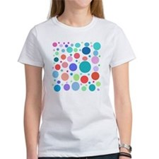Multi Colored Polka Dots Tee