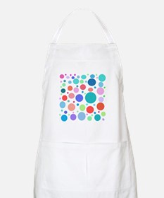 Multi Colored Polka Dots Apron