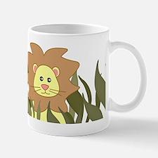 Cute Jungle Safari Animals - Lion Mug