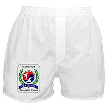 Sungshil Kwan Patch Boxer Shorts