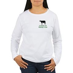 Milking A Cow T-Shirt
