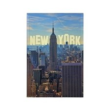 Empire State Building from the To Rectangle Magnet