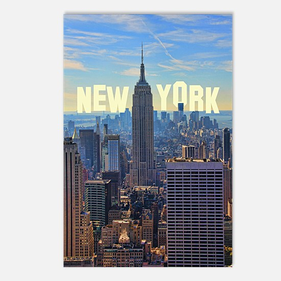 Empire State Building fro Postcards (Package of 8)