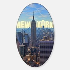 Empire State Building from the Top  Decal