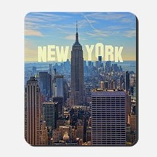 Empire State Building from the Top of th Mousepad