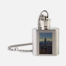 Empire State Building from the Top  Flask Necklace