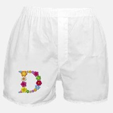 D Bright Flowers Boxer Shorts