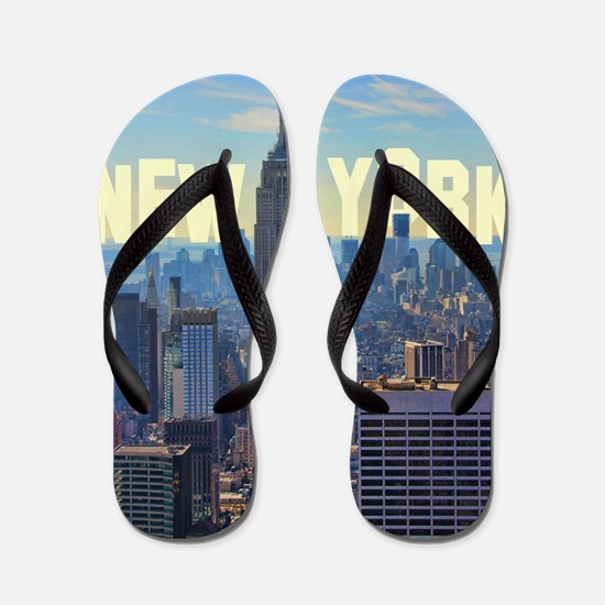 Empire State Building from the Top of t Flip Flops